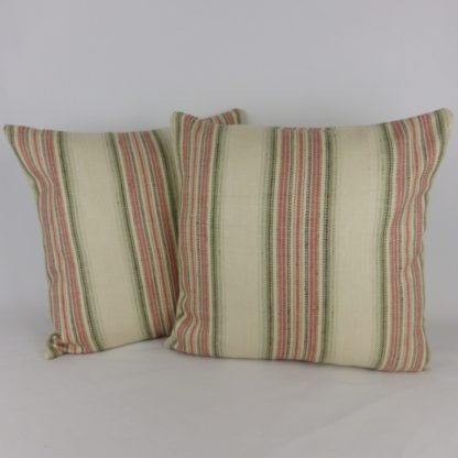 Colefax and Fowler Merryn Stripe Fabric Cushions