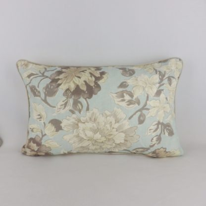 Large Hodsoll McKenzie Welford Blue Grey Floral Cushions