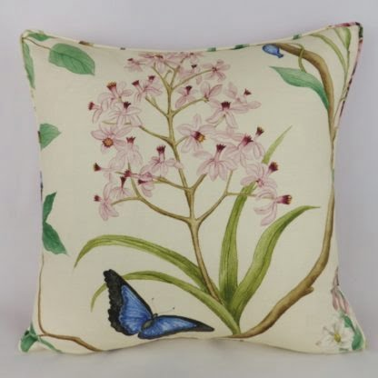 Sanderson Clementine Floral Cushion