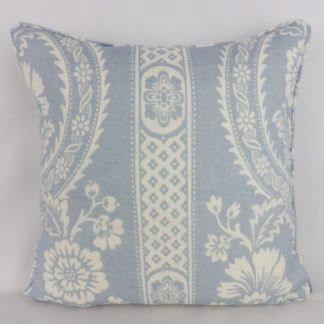 Blue Versailles Schumacher Floral Cushions