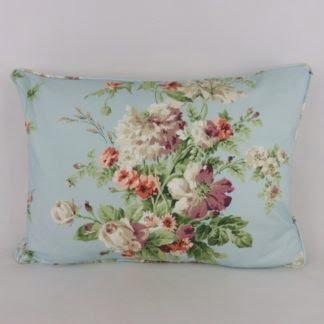 Vintage Blue Floral Cushions