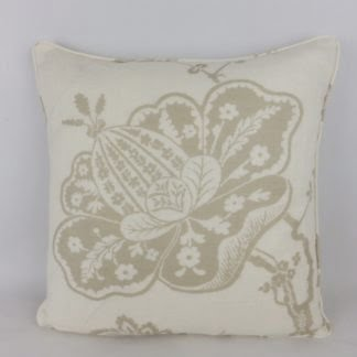 Schumacher Bali Vine Large Flower Cushion