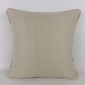 Natural Herringbone Linen Cushions