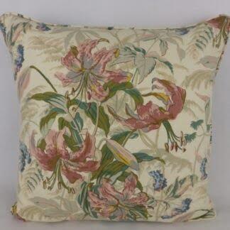 Large Vintage Floral Cushions