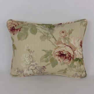 Sanderson Sorilla Vintage Rose Floral Cushions