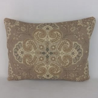 Paisley Lumbar Cushion