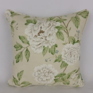 Sanderson Peony Tree Floral Cushions