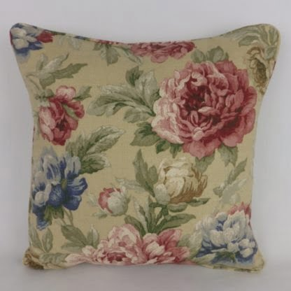 Swaffer Victoria Gardens Rose Floral Cushions