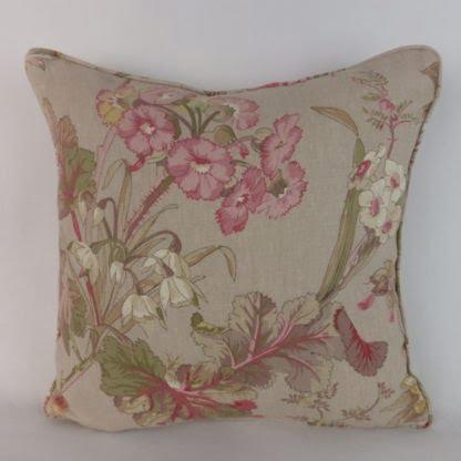 Pink Azalea Edinburgh Weavers Floral Cushions
