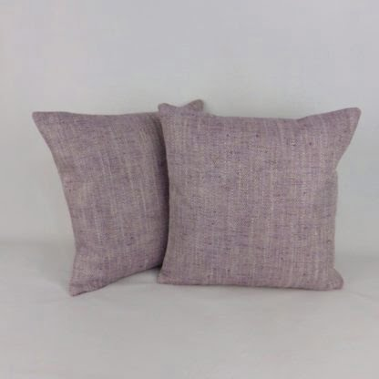 Plum Diamond Jacquard Woven Cushions