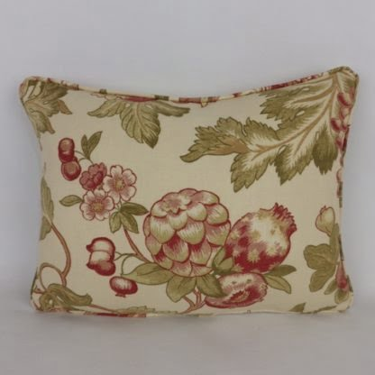 Classic Red Fruit floral Cushions