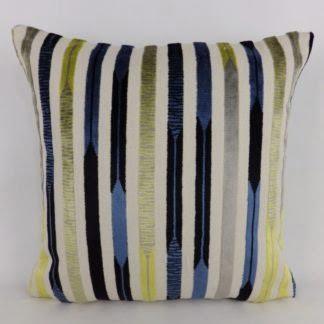 Sanderson Kandinsky Velvet Stripe Cushions
