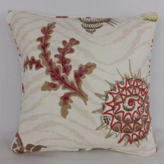 Cowtan & Tout Barbados Shell Coral Cushion