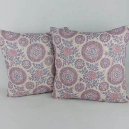 Floral Indienne Paisley Cushions