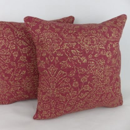 Red Gold Classic Country Cushion