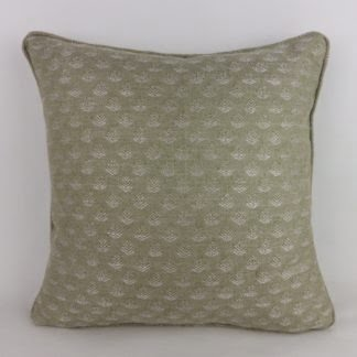 Soft Green Tree Woven Cushions