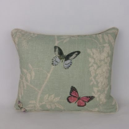 Sanderson Wisteria and Butterfly Cushions