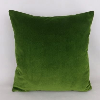 Emerald Green Velvet Pillow Cushions