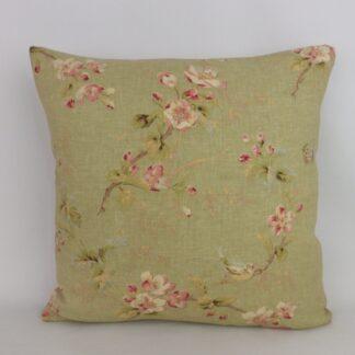 Edinburgh Weavers After the Rain Floral Cushion