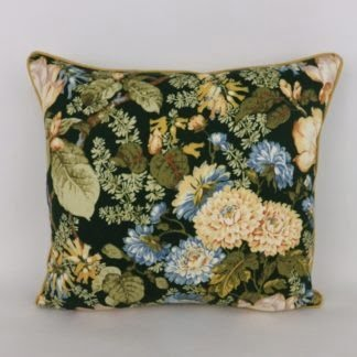 Vintage Sanderson Aria Floral Cushions