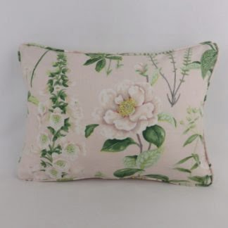 Pale Pink Floral Cushion