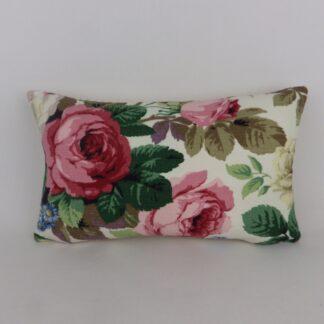 Pink Vintage Sanderson Floral Cushion