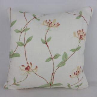 Honeysuckle Floral Cushions.