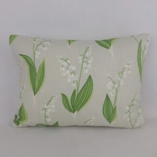 Lily of the Valley Floral Cushions
