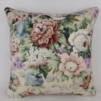 Large Classic Rose Floral Cushion