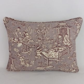 Sanderson Chatelet Toile Cushions