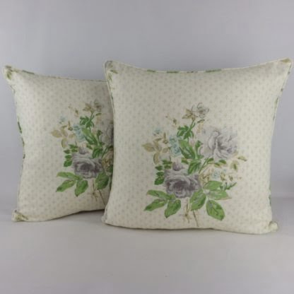 Sanderson Roseanna Vintage Floral Cushions