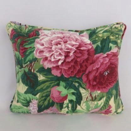 Vintage Sanderson Devonshire Place Floral Cushion