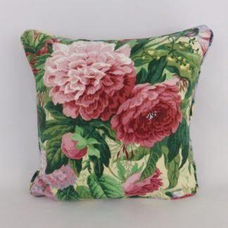 Vintage Sanderson Linen Velvet Cushion