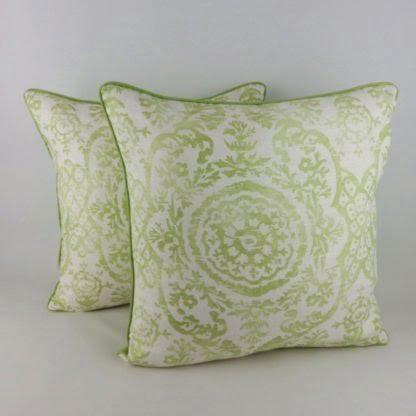 Apple Green Cushions