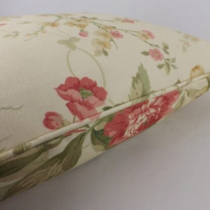 Sanderson Rose Blewberry Cushion