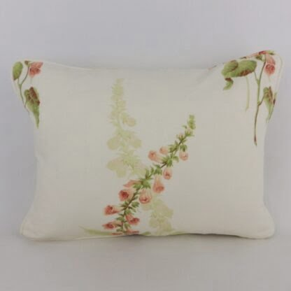 Sanderson Coral Foxgloves Cushion