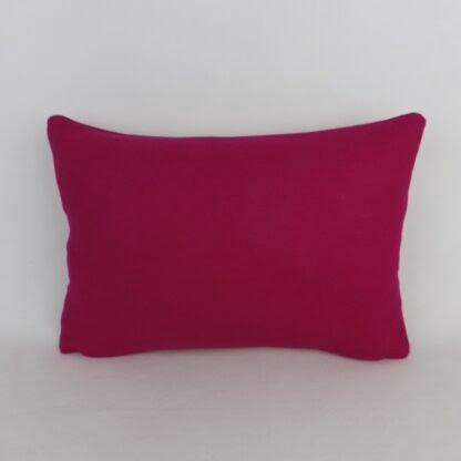 Fuchsia Pink Wool Cushion