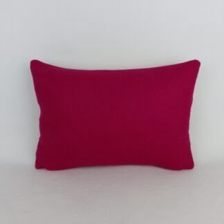 Fuchsia Pink Wool Cushion