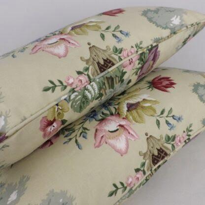 Sanderson Chatsworth Vintage Floral Cushion