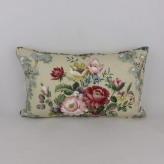 Sanderson Chatsworth Vintage Floral Cushion