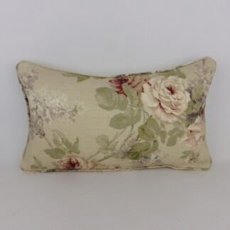 Faded Sanderson Floral Cushion