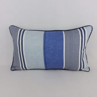 Blue Striped Cushions