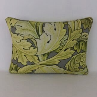 Large William Morris Acanthus Leaf Cushion