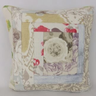 Patchwork Linen Cushion