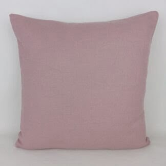Plain Mauve Linen Cushion