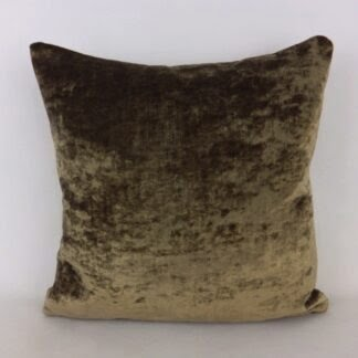 Brown Velvet Cushions
