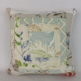 Patchwork Linen Cushion