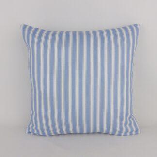 Blue Striped Cushions