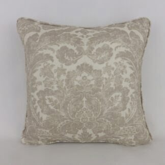Classic Natural Damask Cushion