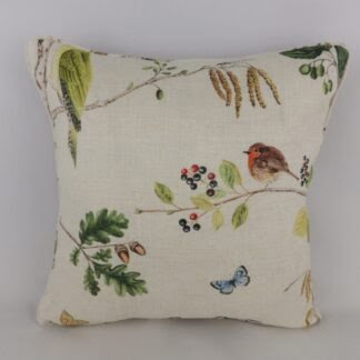 Sanderson Woodland Chorus Cushion